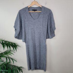 Banana Republic   Gray Luxury Cashmere Blend Dress